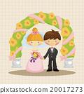 插图 新郎 新娘 20017273