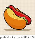 热狗 食物 食品 20017874
