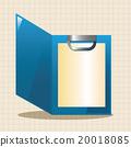 封面 白色 纸 20018085