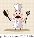 大厨 主厨 矢量 20018504