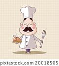 大廚 主廚 料理 20018505