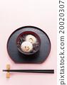 年糕甜赤豆汤 年糕 和果子 20020307