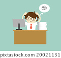 Businessman feeling stressed. 20021131