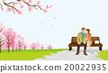 賞櫻 賞花 矢量 20022935