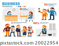 Infographics Business People and Colleagues in Wor 20022954