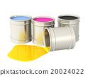 cmyk, bucket, toned 20024022