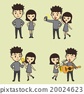 Boy And Girl Cartoon character 20024623