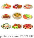 food, vector, lunch 20028582
