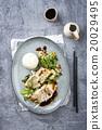 Saithe Filet Teriyaki with Vegetable 20029495