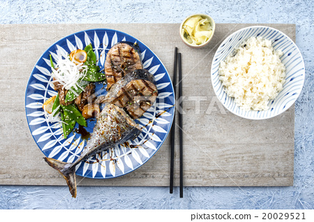 Sliced Barbecue Bonito with Vegetable 20029521