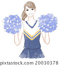 cheerleader, cheerleading, smiling 20030378