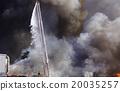 Fire spot Water from a ladder car 20035257