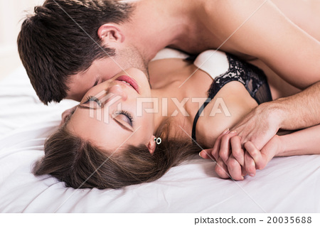 Young romantic couple hugging and kissing stock photo 20035688 young romantic couple hugging and kissing thecheapjerseys Choice Image