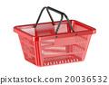Red shopping basket 20036532