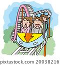 過山車 娛樂 主題公園 20038216