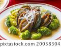 鮑魚 中餐 殼 20038304