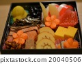 osechi, traditional japanese new year dishes, the new year 20040506