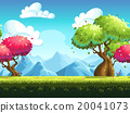 background, vector, seamless 20041073