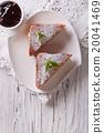 Delicious of Monte Cristo sandwich and jam 20041469