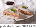 Delicious of Monte Cristo sandwich and jam 20041470
