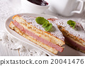 Tasty sandwich of Monte Cristo with ham and cheese 20041476