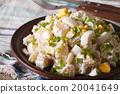 potato salad with mayonnaise close-up 20041649
