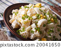 American Potato salad with chives and egg 20041650