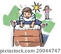 跳馬 插畫 體育 20044747