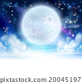 Moon Sky Header Background 20045197