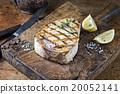 Barbecue Swordfish on Cutting Board 20052141