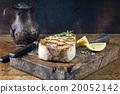 Barbecue Swordfish on Cutting Board 20052142