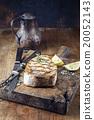 Barbecue Swardfish Steak on Cutting Board 20052143