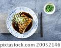 Swordfish Steak Teriyaki on Plate 20052146