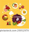 cooking, vector, food 20052970