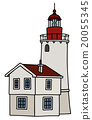 Old stone lighthouse 20055345