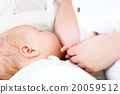 baby, mother, breast 20059512