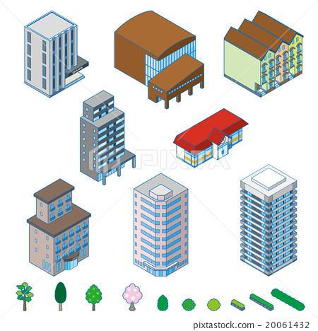 各种建筑物/三维地图 20061432