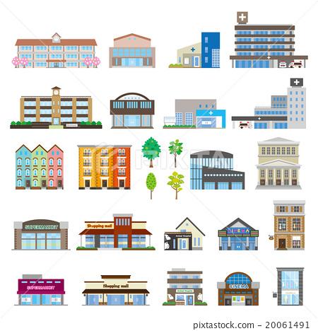 建築 圖標 Icon 20061491