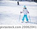 滑雪度假村 女孩們 小姑娘 20062041