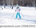 滑雪度假村 女孩們 小姑娘 20062042