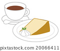 Chiffon cake and coffee 20066411