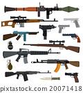 weapon, pistol, vector 20071418