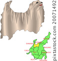 Map animal Chubu Toyama dog 20071492