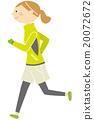 慢跑 20072672