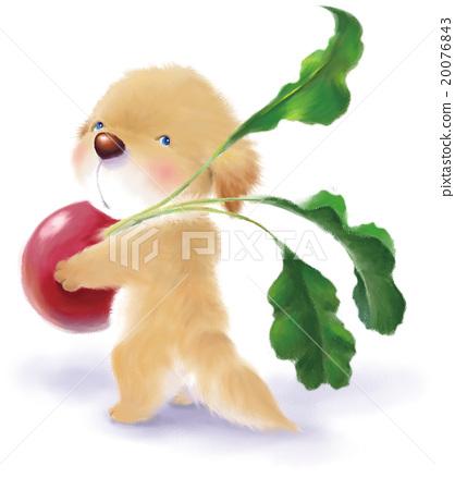 illustration, dog, dogs 20076843