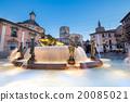 Square of Saint Mary's, Valencia, Spain. 20085021
