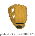 leather baseball glove 20085323