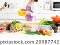 廚房 食品 原料 20087742