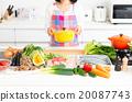 廚房 食品 原料 20087743