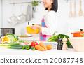 廚房 食品 原料 20087748